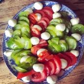 L'incontournable tomates mozza 🥰#artisanatfrancais #foodlovers #foodaddict #healthyfood #mozzarella #hautesavoie #annecy #gastronomie