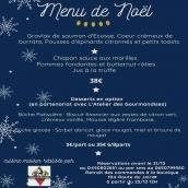 Menu de Noël 🤶 🎄 À commander dès aujourd'hui et à retirer à notre boutique dès le 23/12. #cuisinemaison #artisanatfrancais #gastronomie #annecy #hautesavoie #geneve #paysdugenevois #noel