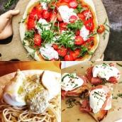 Temps pluvieux mais heureux avec ces recettes chaudes de mozza et burrata! Nous serons ouverts demain et cette fin de semaine aux horaires habituels pour égayer votre week-end 😊 #artisanatfrancais #burrata #mozzarella #foodlover #cheeseaddict #hautesavoie #lyonfood