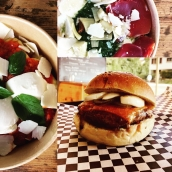 Burgers et plats du jour ce midi à l'Atelier 😊 #platsdujour #burgers #localfood #foodlovers #mozzarella #locavore #cheeseaddict #hautesavoie