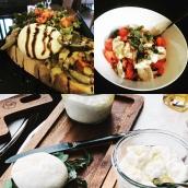 Il est encore temps de profiter des recettes estivales !!! Bruschetta légumes grillés, la classique tomates mozza ou simplement un coeur de burrata avec un filet d'huile d'olive à déguster sur un pain de campagne frais ... Rdv à notre fabrique d'Allonzier pour encore plus d'idées recettes 🤗 #artisanatfrancais #fromage #mozzarella #burrata #burratagram #localfood #locavore #freshfood #annecy #hautesavoie #gastronomie